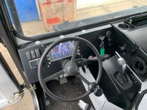 Updated Hagglund BV206 driver controls
