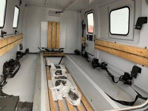Refurbished Hagglund rear cabin